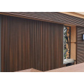 Anti UV Crack Resistant Waterproof Synthetic Composite Wood Panel 219*26mm Outdoor Waves WPC Wall Panel External Cladding Siding