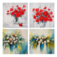 Wand-Kunst-Leinwand-Druck-Blüten-Öl-Segeltuch-Anstrich