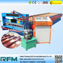 Roll forming machine corrugated fiberglass concrete aluminum roof panel