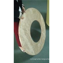Round Shaped Stone Honeycomb Composite Panels Gor Washroom