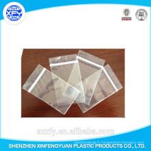 Fabricant Custom Zipper Transparent Plastic Bag