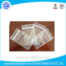 Manufacturer Custom Zipper Transparent Plastic Bag