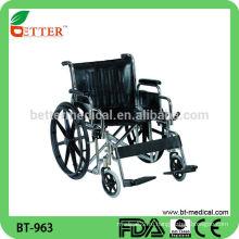 Кожаное кресло для инвалидных колясок