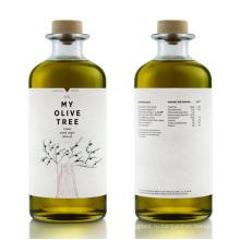 500 мл оливковое масло стеклянная бутылка с деревянной крышкой