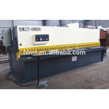 hydraulic metal guillotine shear machine with ESA of Italy CNC