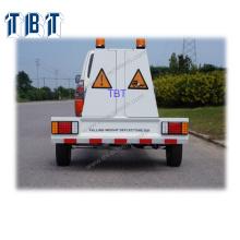 TBT-D1 Déflectomètre à chute automatique entièrement monté monté sur remorque FWD