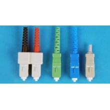 Single Mode / Mutil Mode Sc Fiber Optic Connector