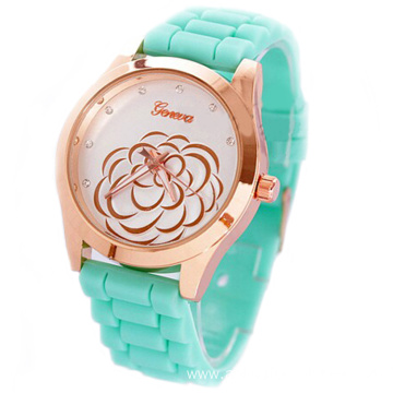 Wholesale New Arrival Girls Silicone Wrist Watch