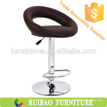 2016 Cheap Classic PU Leather Steel Bar Chair Dimensions Bar Stool Seat Covers