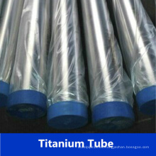 Proveedor de la aleación del Ti Tubo Titanium sin costuras del tubo de la titanio (GR2)