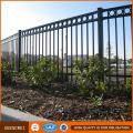 Cerca del jardín de la yarda delantera Cerca de acero pesada galvanizada