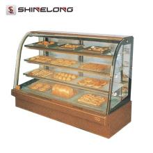 Handelshotel-Küchen-Ausrüstung 1.2M 4 Schichten Bäckerei-Schaukasten für Bäckerei