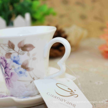 Grande Qualité Délicate Conception Œuvre Porcelaine Émaillée Tasses En Gros 2016