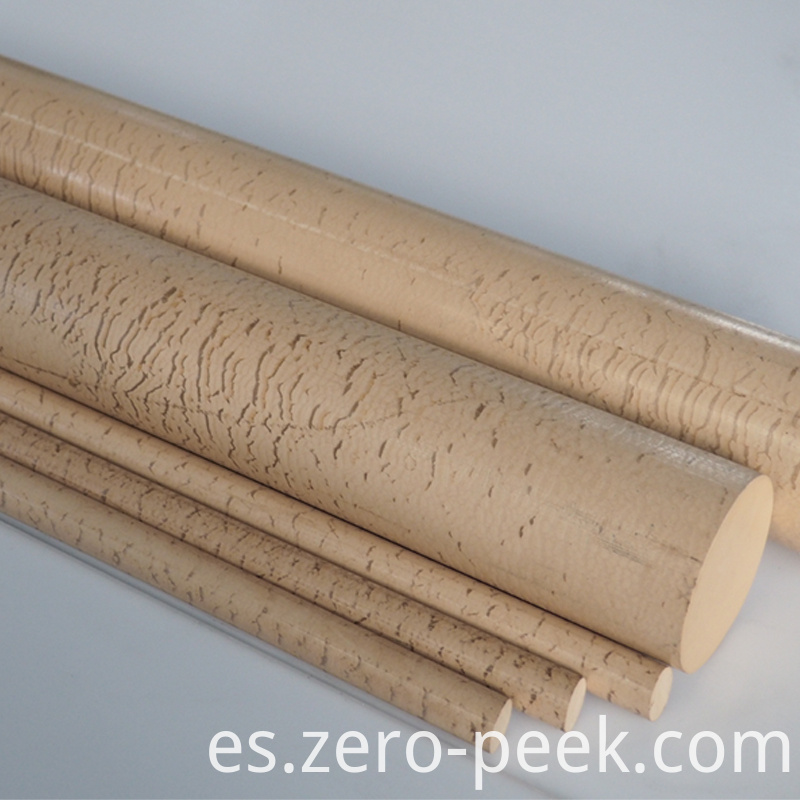 Natural Plastic PPS rod