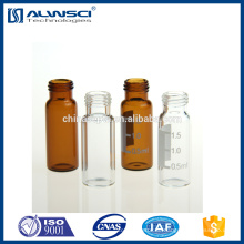 2ml klar Schraubgewinde 9-425 HPLC Autosampler Vials kompatibel mit Agilent