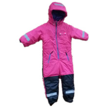 Pink Hooded Reflective Waterproof Jumpsuits