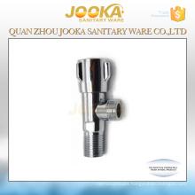 Amazing price chrome plated stop valve with zinc handle