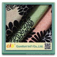 Beflockendes Sofa-Gewebe für Sofa-Abdeckung (CIGD4BSF-0030)