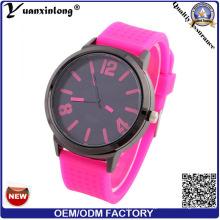 Yxl-161 Новый Дизайн Моды Силиконовые Часы Мужчины Женщины Кварцевые Спорт Случайные Часы Оптом
