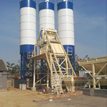 hopper lift  mixing ready concrete batching plant