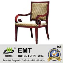 Высококлассный стул для кафедры отеля (EMT-HC18)