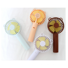 3 kinds speed portable table electric rechargeable usb mini electric hand fan with power bank
