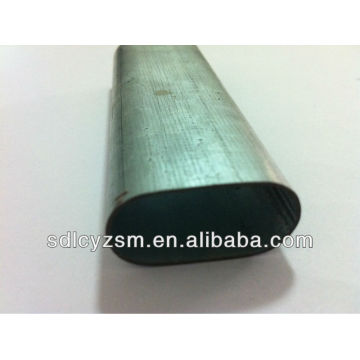 galvanized pipe oval/oval shape galvanized steel pipe