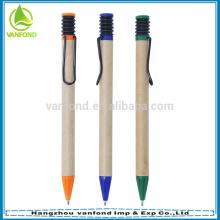 Personalizada Eco amigável papel reciclar caneta para promoção