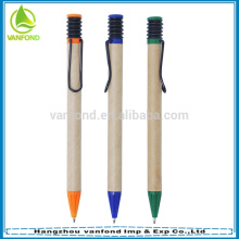 Эко дружественных бумаги рециркуляции ручка для продвижения