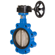 Cast Iron Lug Type Butterfly Valve Pn10/16