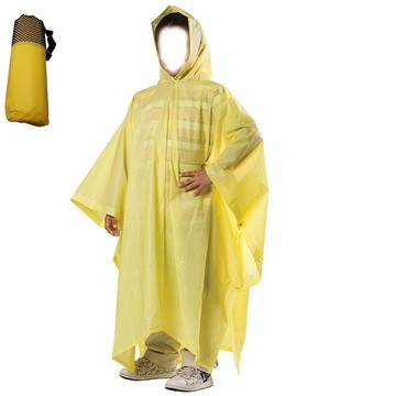Unisex PEVA Аварийный чехол от дождя для детей