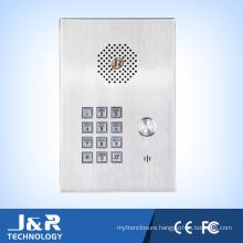 Emergency Elevator Telephone, Hands Free Stainless Steel, Wireless Intercom Telephone