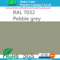 Elektrostatik RAL7032 Powder Coating