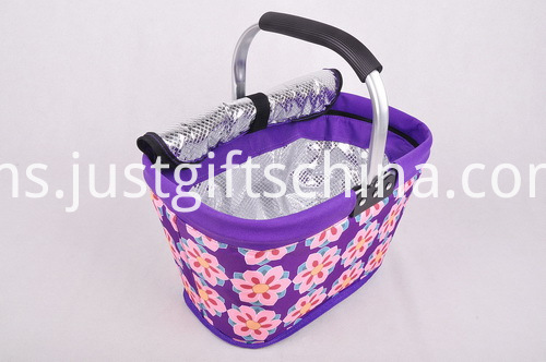 600D Folding Cooler Shopping Basket (3)