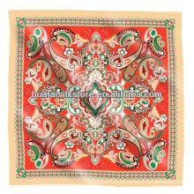 ¡¡¡Muestra gratis!!! Pañuelo de seda de seda de Paisley