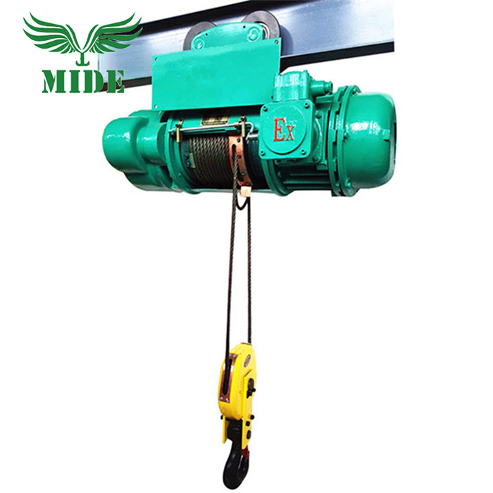 New BCD type explosion proof electric hoist