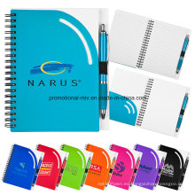 Cuadernos personalizados con espiral encuadernado