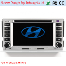 Car DVD Player com Bluetooth para Hyundai Santafe