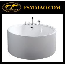 Bañera independiente de acrílico transparente circular (BA-8206)
