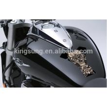 Resina 2014 da motocicleta da motocicleta abobadou a etiqueta da almofada do tanque para protetores do tanque protege