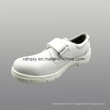 Chaussures de sécurité PU microfibre cuir artificiel avec Mesh doublure (HQ01030)