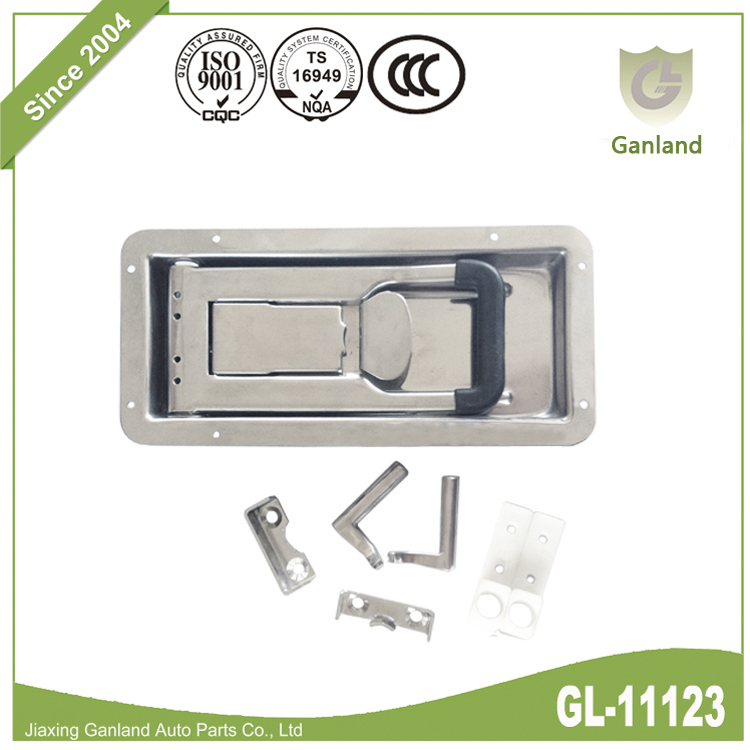 Enclosed Trailer Door Lock