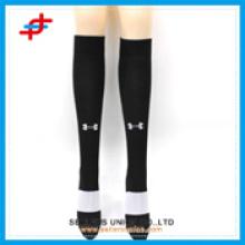 Calcetines de los deportes de la rodilla altos, calcetín de la media del fútbol, manga de la compresión