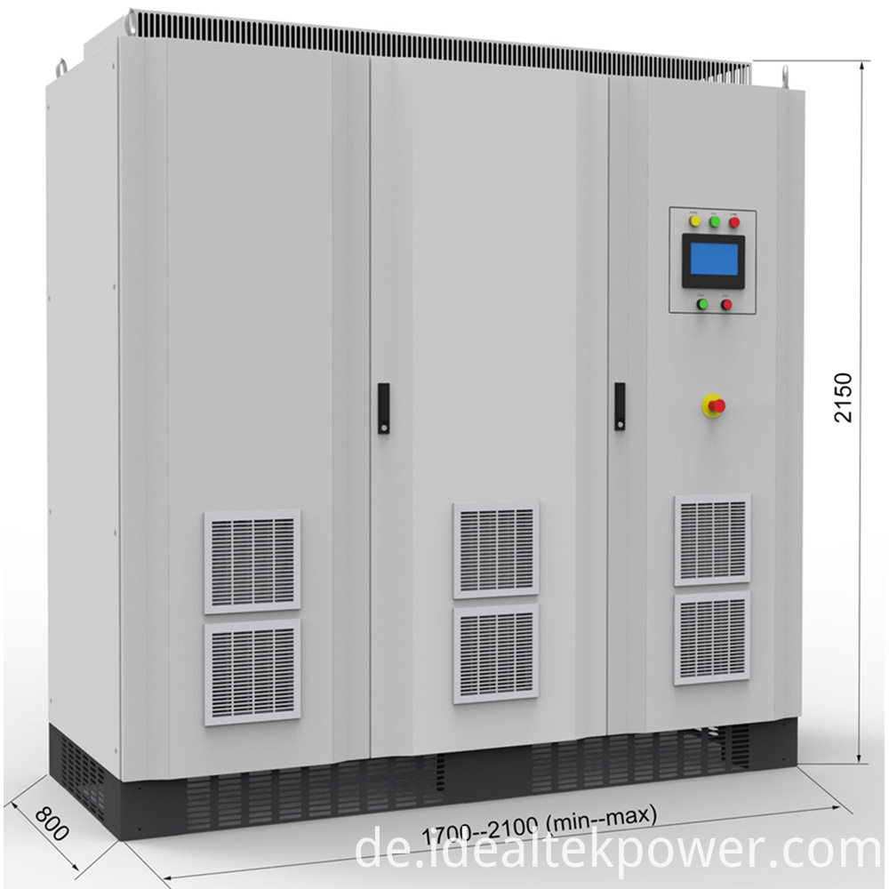 250 450kw Dc Power Supply With Size