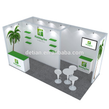 Detian Offer 10x20ft aluminum truss exhibition booth exposition stand