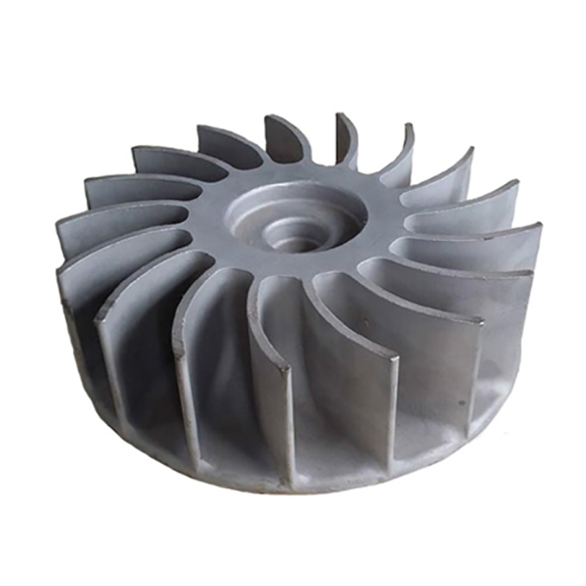 High Precision 5 Axis Turbine Blower Impeller