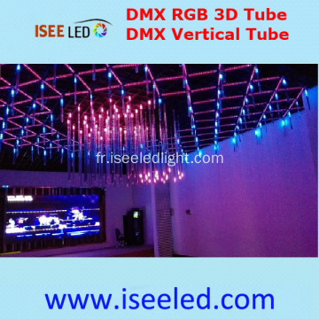 Lumière 3D Tube Tube RVB DMX512 LED Night Club