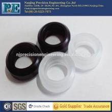 Ruedas de plástico negro de alta precisión