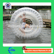 Funny transparent inflatable water walking ball, high quality inflatable water running ball for childern