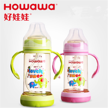 Anti-Flatulence PPSU Baby Feeding Bottle Wide Neck